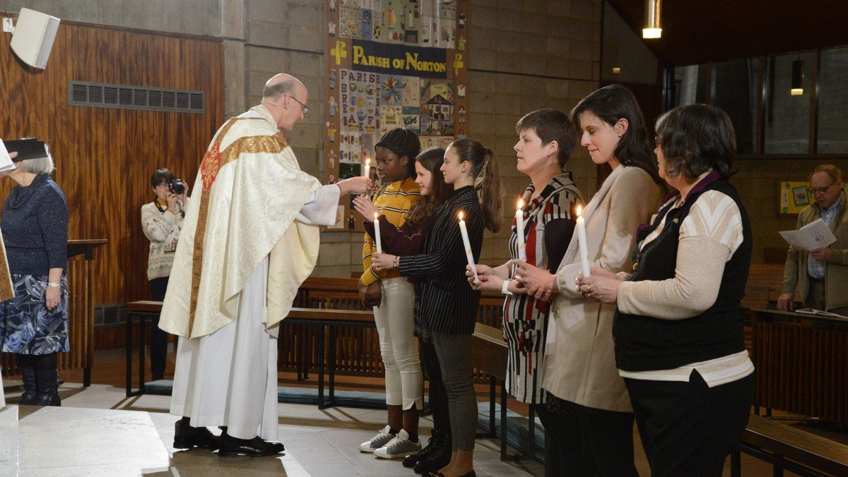 Confirmation Service with Bishop Michael