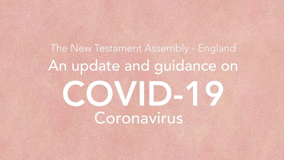 Coronavirus (Covid-19) Guidance for NTA Churches - 14/03/2020
