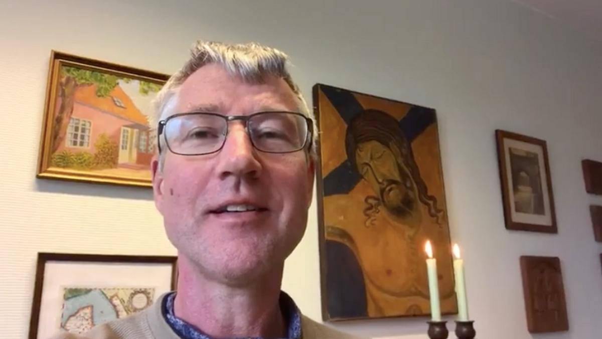 En videohilsen fra kirken