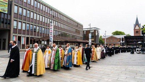 Hilsen fra landets biskopper til menighederne