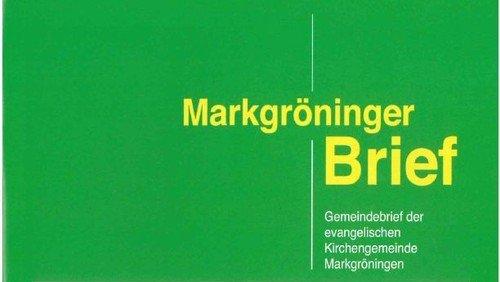Markgröninger Brief 178 - März 2016