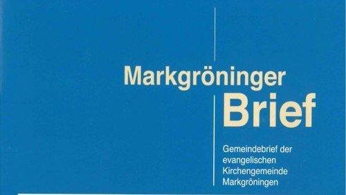 Markgröninger Brief 179 - Juli 2016
