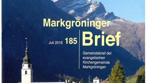 Markgröninger Brief 185 - Juli 2018