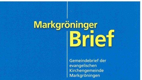 Markgröninger Brief 187 - April 2019