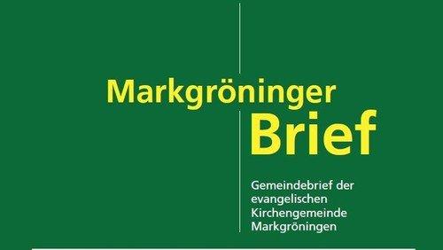Markgröninger Brief 188 - Juli 2019