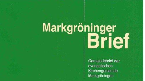 Markgröninger Brief 186 - Dezember 2018
