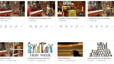 Join in our worship wherever you are - look back at our online archive