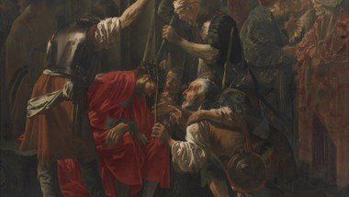 Hendrick Ter Brugghen: Kristi tornekroning, 1620