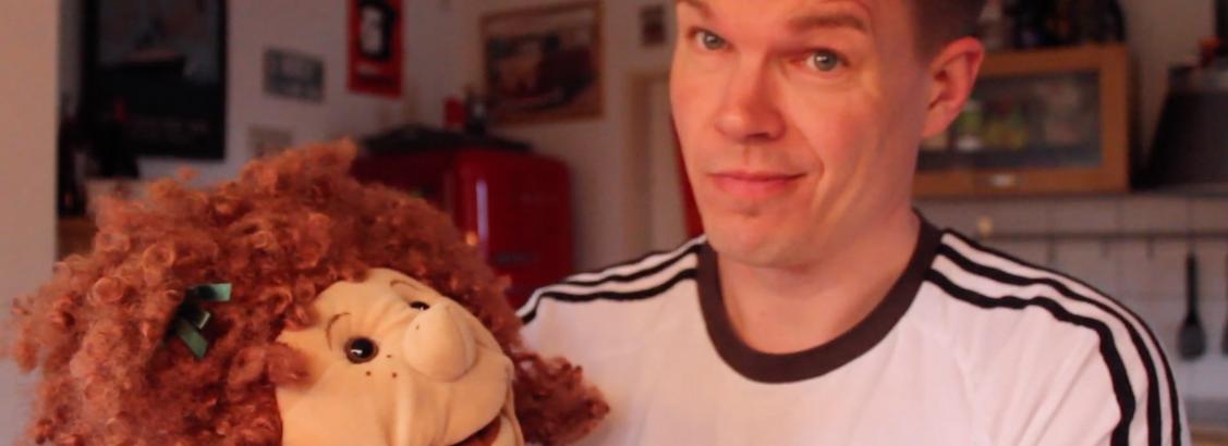 Handpuppe Susanne erlangt Bekanntheit auf YouTube
