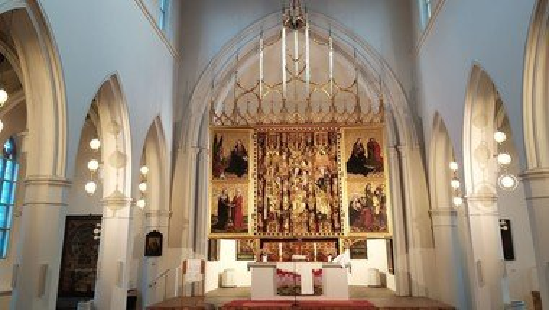 Gruß aus der St.-Getraud-Kirche