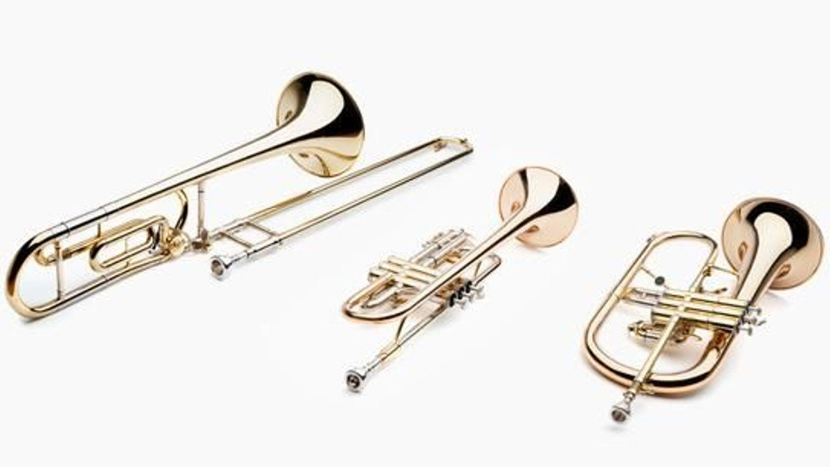 Mit Trompeten und Posaunen