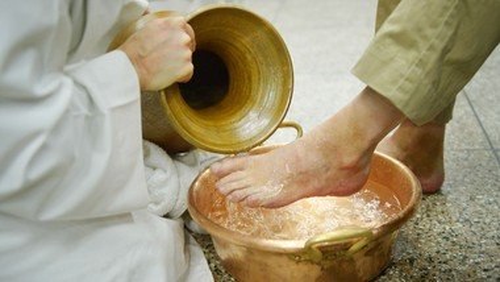 Gründonnerstag - Fußwaschung