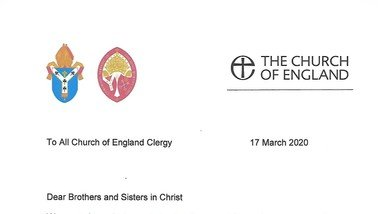 A letter from the Archbishops