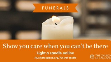 Light a virtual candle to remember a loved one