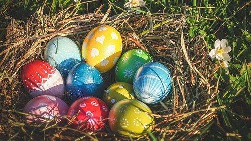 Nester rund um die Kirche an Ostersonntag suchen!