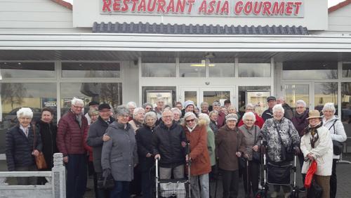 Senioren schlemmen im Asia Gourmet