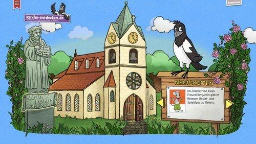 Kirche interaktiv für Kinder