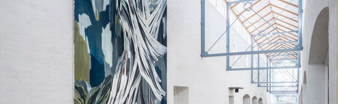 Bag om sognegårdens nye kunstværk: White Inception