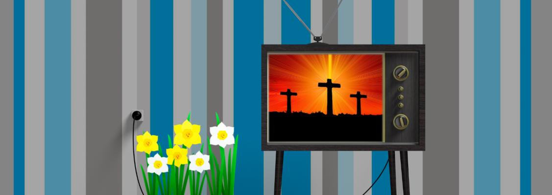 Påskegudstjenester i radio, TV og online