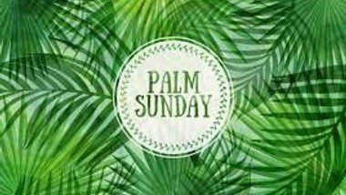 Palm Sunday Worship at Home