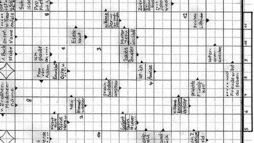 Kreuzworträtsel gegen die Langeweile
