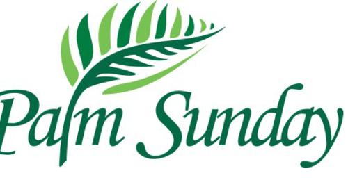 Palm Sunday service April 5th 2020
