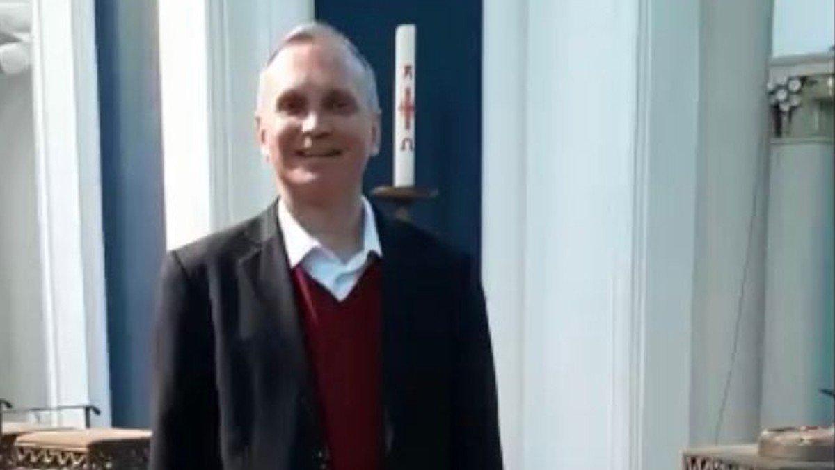 Gruß aus unserer Kirche von Pfarrer Burkhard Bornemann