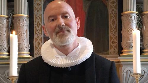 Palmesøndag - Andagt med sognepræst Ulrik Pilemand i Vejby Kirke