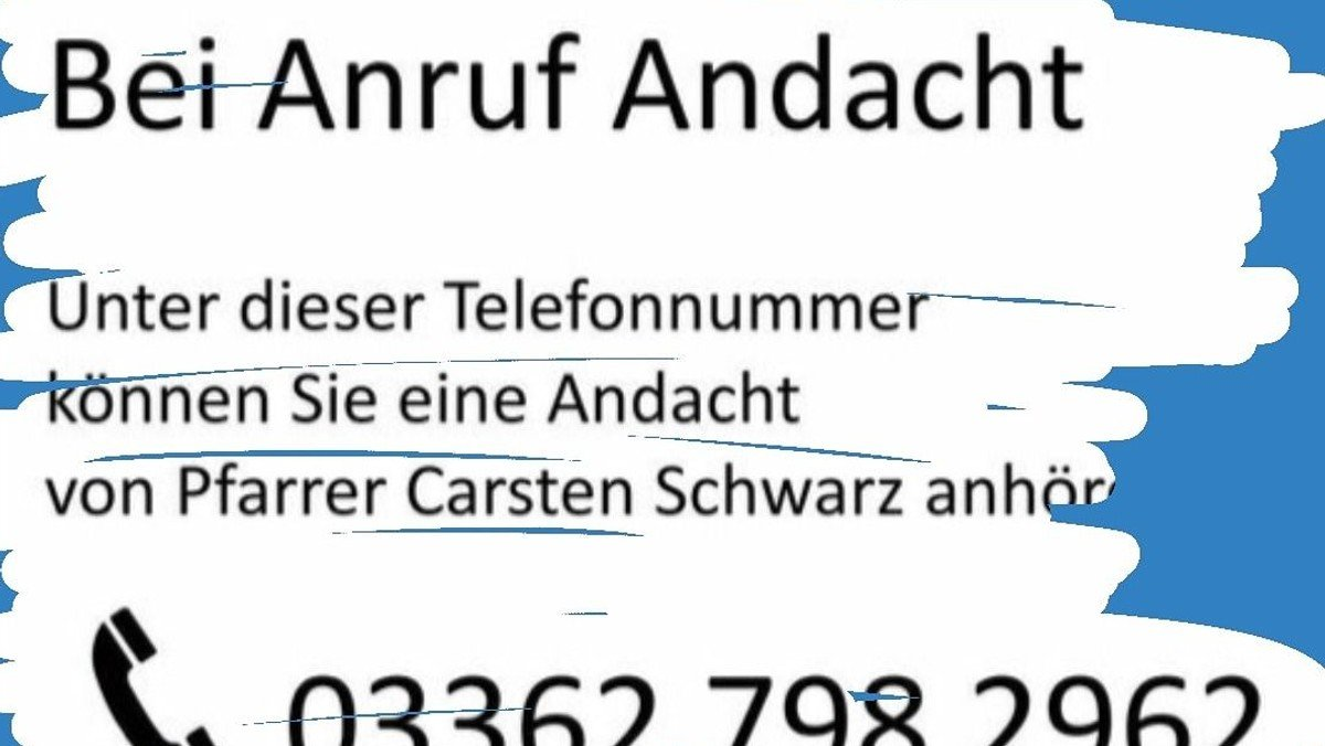 Anruf - Advents - Andacht