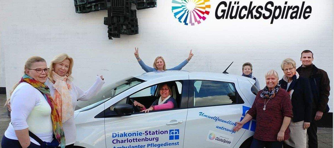 Diakonie-Station fährt jetzt elektrisch