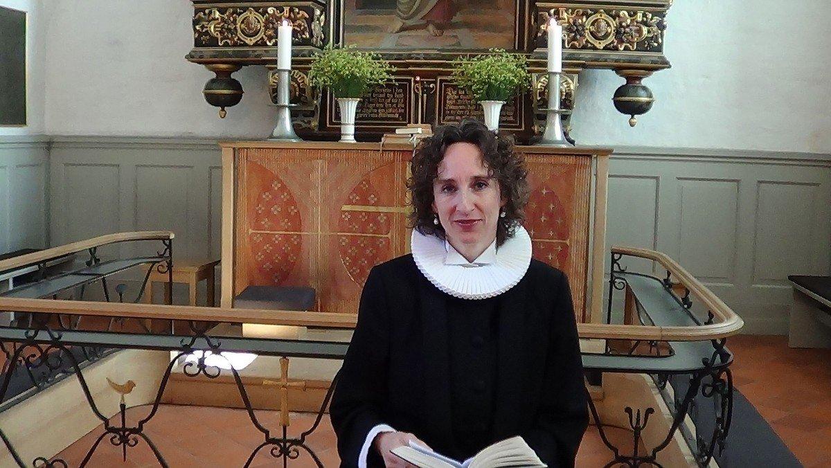 Påskedag i Søllerød Kirke v. Xenia Dalgaard