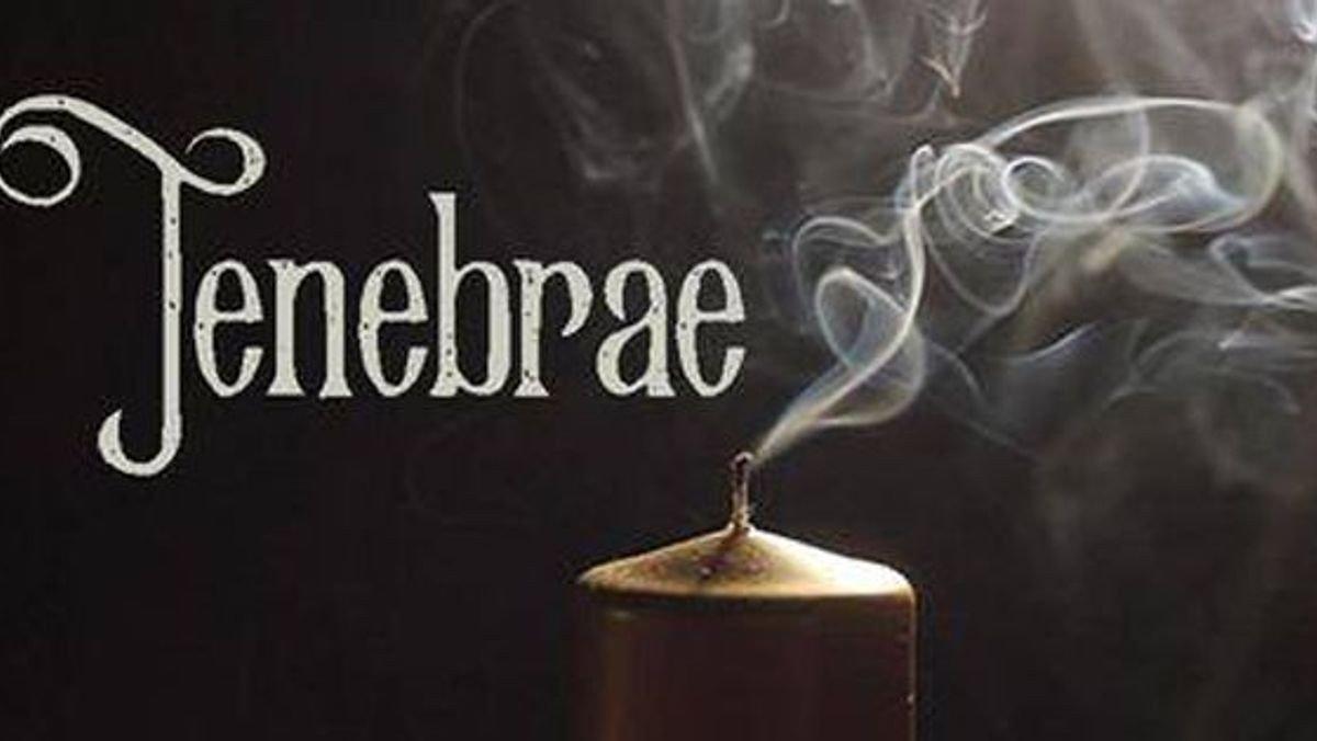 Tenebrae service April 9th 2020