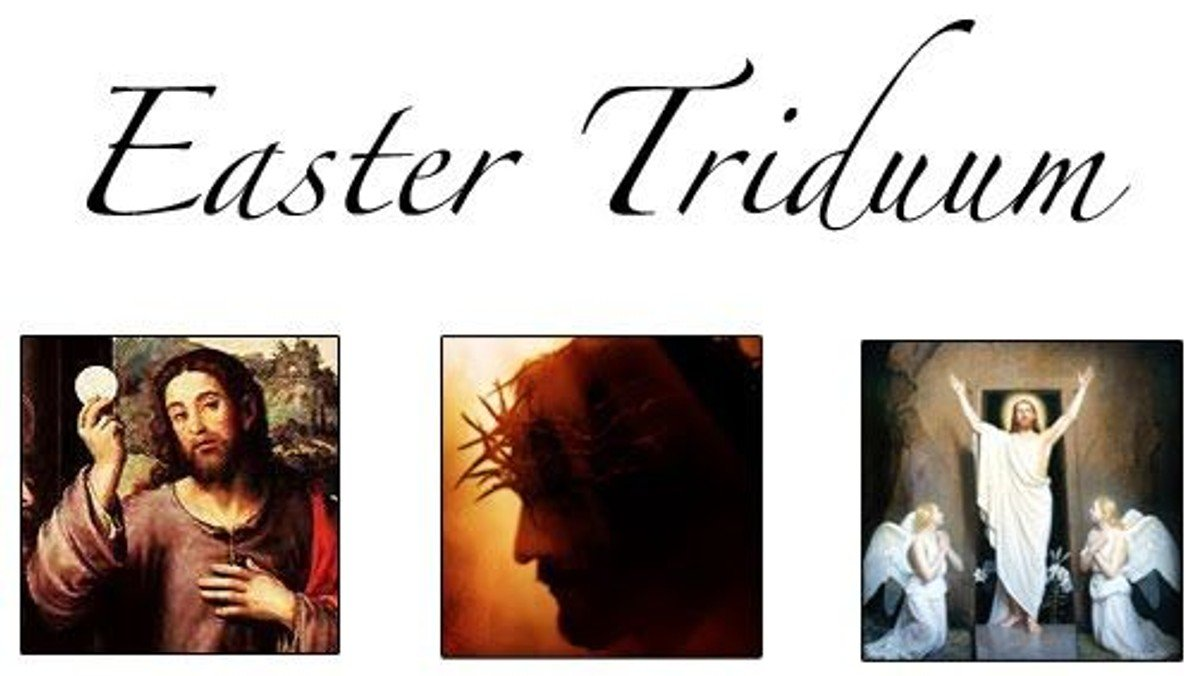 The Paschal Triduum - one service over three days
