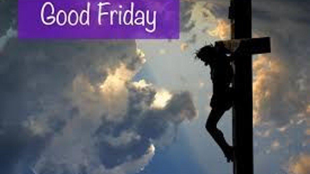 Good Friday service April 10th 2020