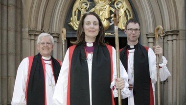 Easter Sunday service featuring Bishop Julian, Bishop Philip and Bishop Jill