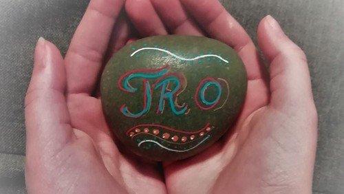 At holde en sten i hånden