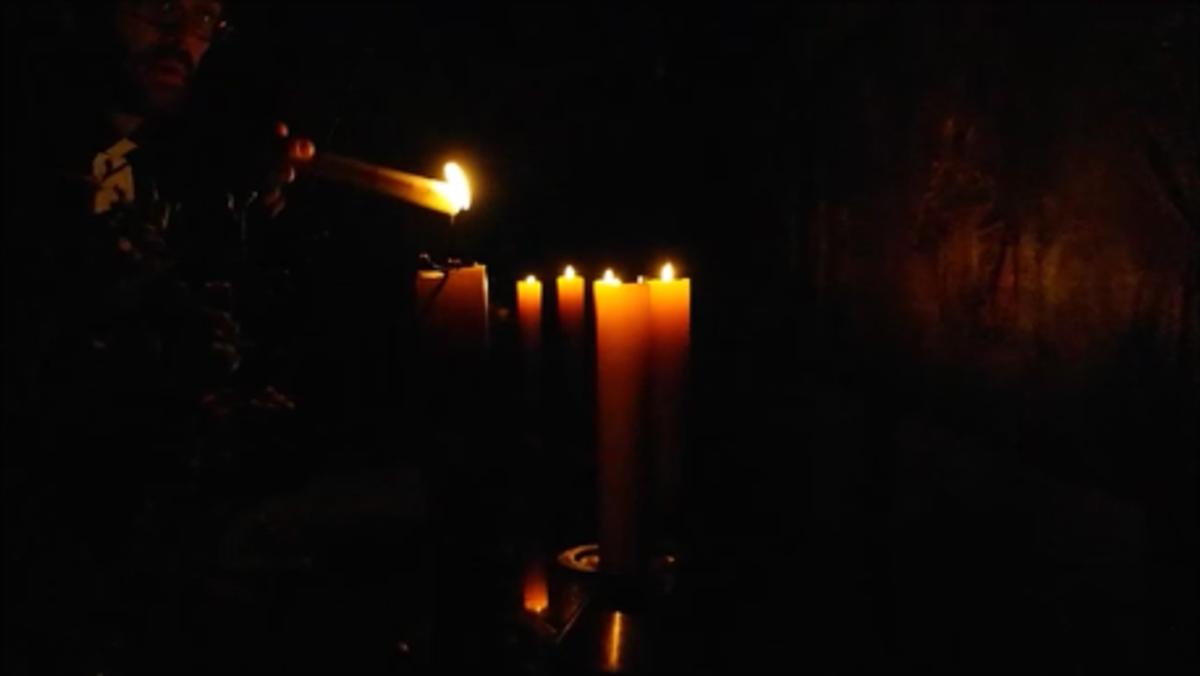 Die Osternacht in der Heilandskirche