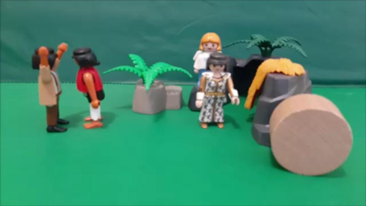 Die Ostergeschichte in Playmobil