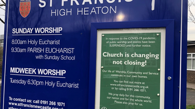 Notices for Sunday 19th April 2020