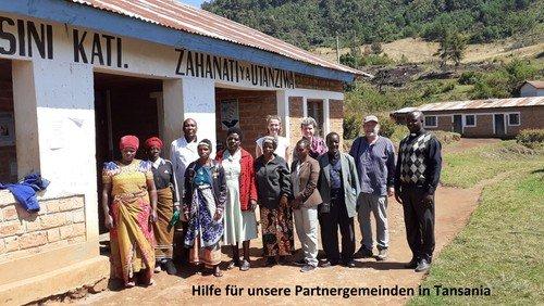 Bitte unterstützen Sie die Familien unserer Partnergemeinden in Tansania während der Corona-Krise