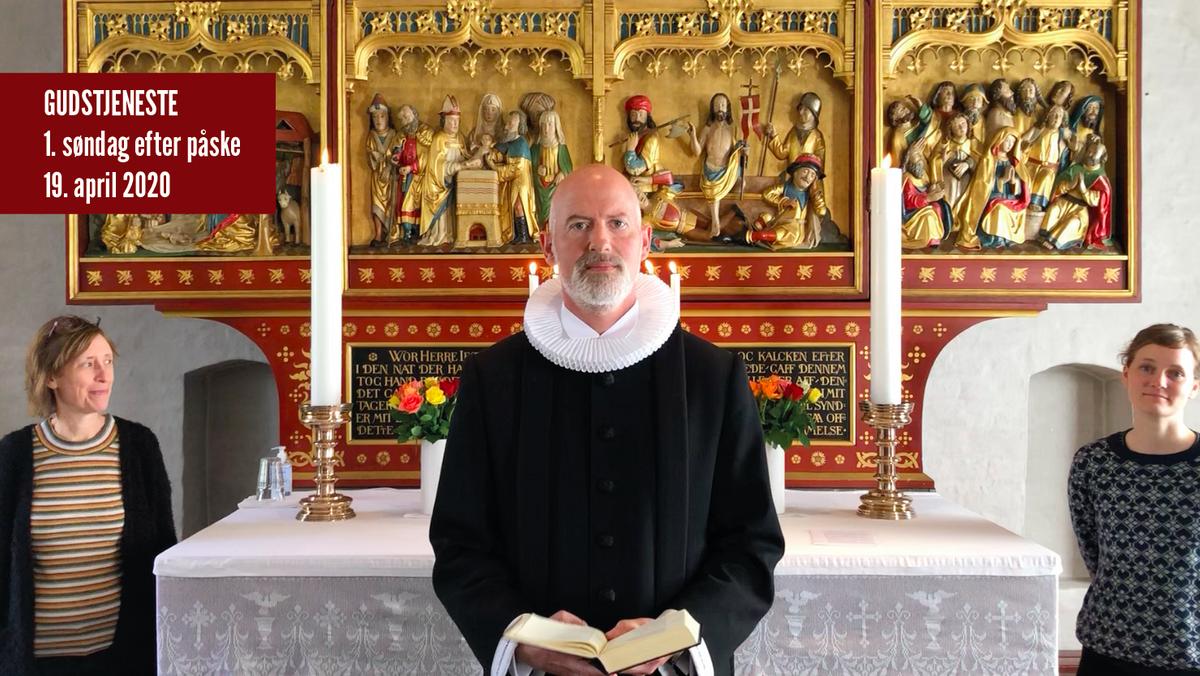 Gudstjeneste fra Tibirke kirke 19. april 2020
