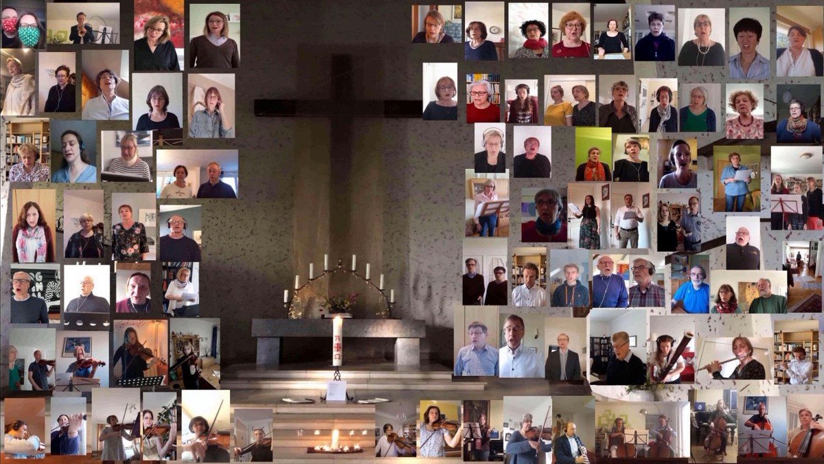 Corona-Exkurs der Kirchenmusik mit YouTube-Video