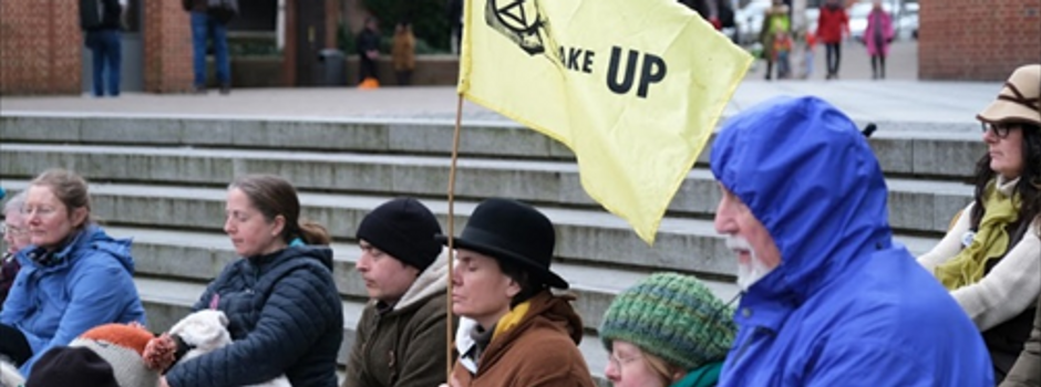 Extinction Rebellion, scripture and symbolism