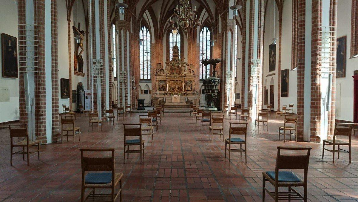 Wiederaufnahme der Gottesdienste in St. Nikolai