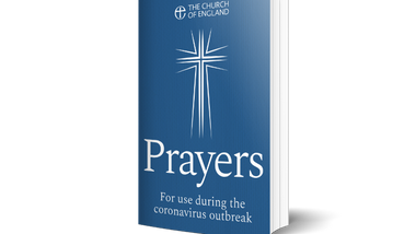 Church of England Prayer Book during the pandemic