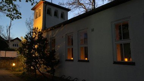 Unsere Kapelle leuchtet