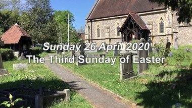 Sunday Worship for 26 April