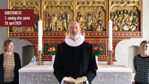 Gudstjeneste fra Tibirke kirke Søndag d. 26. april 2020