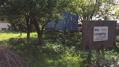Wie schaut es im Kita-Lerngarten aus?