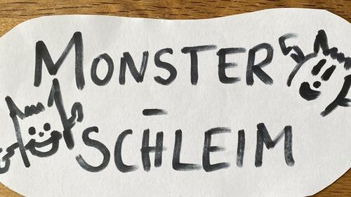 Monsterschleim – Ideen für Zuhause
